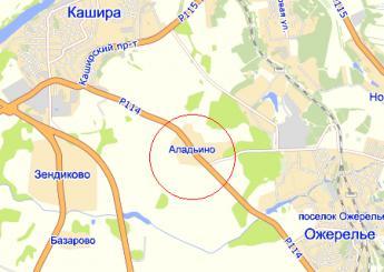 карта серпуховского района рыбалка
