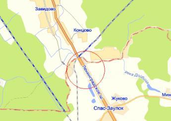 дер. Головково на карте