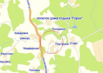 дер. Гульнево на карте