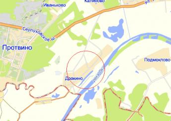 дер. Дракино на карте