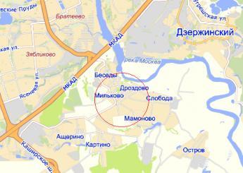 дер. Дроздово на карте