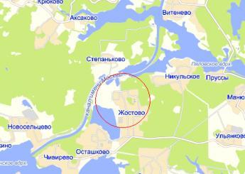 дер. Жостово на карте