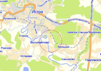 дер. Качаброво на карте