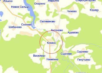Деревня кикино якотское сельское
