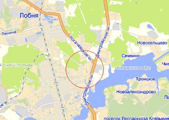 дер. Красная Горка на карте
