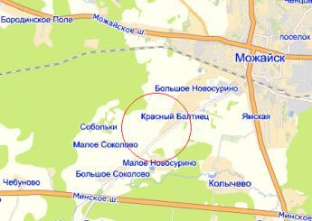 дер. Красный Балтиец на карте