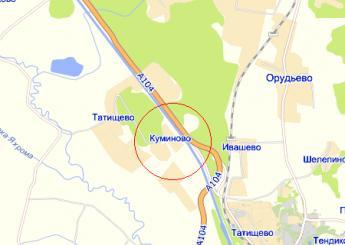 дер. Куминово на карте