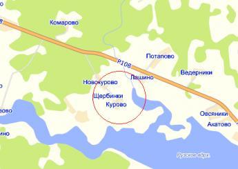 дер. Курово на карте
