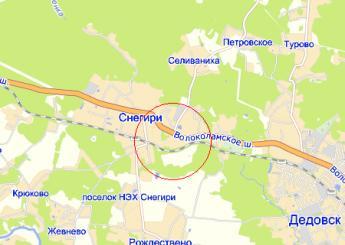дер. Ленино на карте