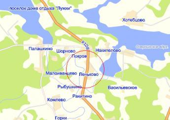 дер. Леньково на карте