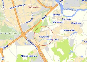 дер. Ащерино на карте