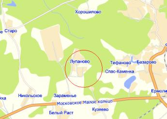дер. Лупаново на карте