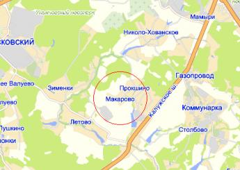 дер. Макарово на карте