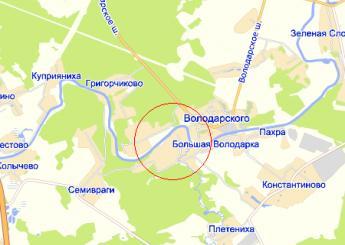дер. Малое Саврасово на карте