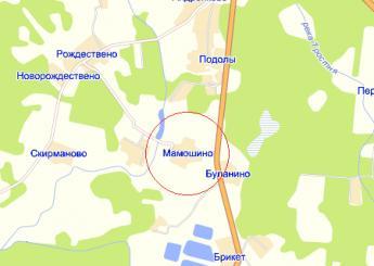 дер. Мамошино на карте