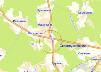дер. Маньково на карте