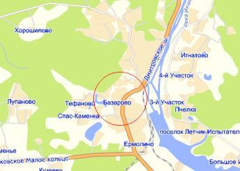 дер. Базарово на карте