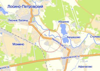 Где находиться село московское