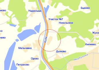 дер. Надеждино на карте