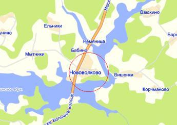дер. Нововолково на карте