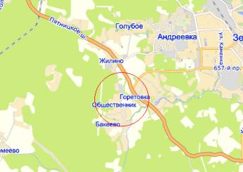 дер. Общественник на карте