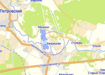 дер. Бездедово на карте