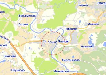 село Павловская Слобода на карте