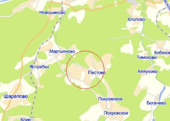 дер. Белозерово на карте