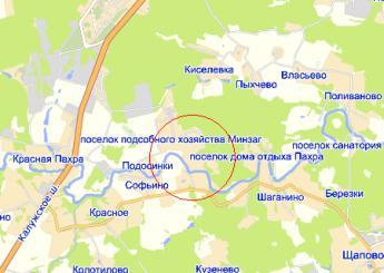 дер. Раево на карте
