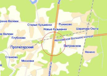 дер. Родионовка на карте