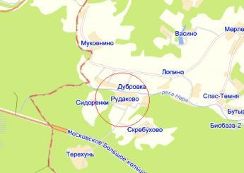 дер. Рудаково на карте
