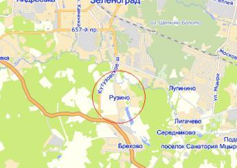 дер. Рузино на карте
