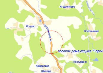 дер. Свистуха на карте