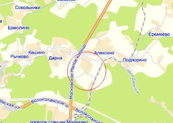 пос. Агрогородок на карте