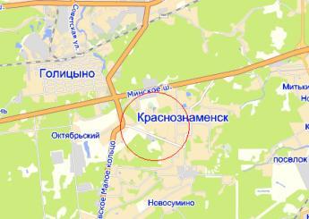 село Сидоровское на карте