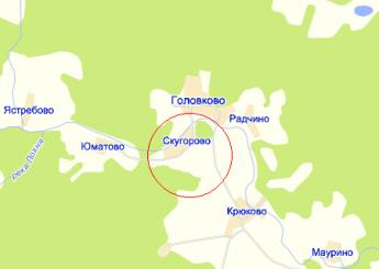 дер. Скугорово на карте
