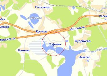 дер. Софьино на карте