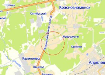 дер. Тарасково на карте