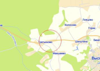 дер. Третьяково на карте