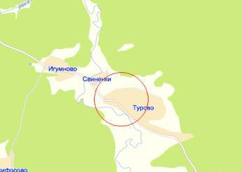 село Турово на карте