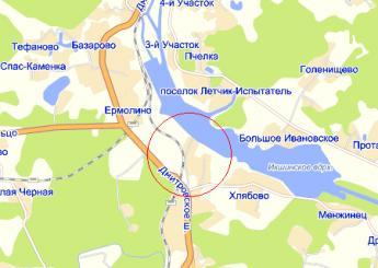 дер. Большая Черная на карте