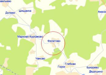 дер. Филатово на карте