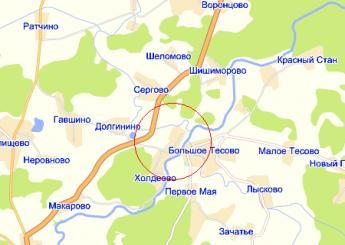 дер. Холдеево на карте