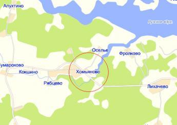 оселье рузский район рыбалка