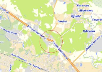дер. Чёрная Грязь на карте
