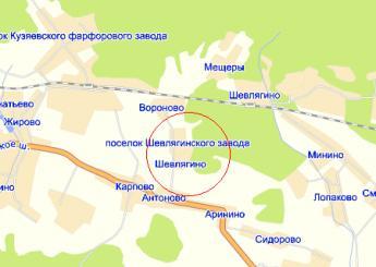 дер. Шевлягино на карте
