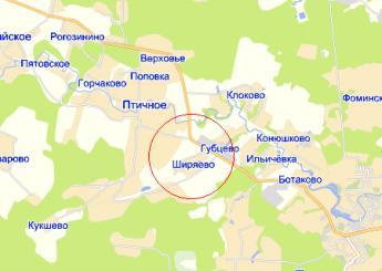 дер. Ширяево на карте