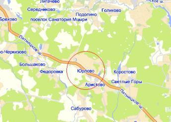дер. Юрлово на карте