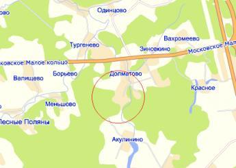 дер. Долматово на карте