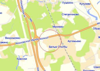 дер. Меткино на карте